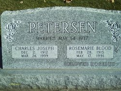 Rosemarie <I>Blood</I> Petersen