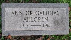 Anne <I>Griqalunas</I> Ahlgren