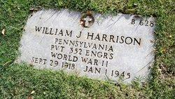William J Harrison