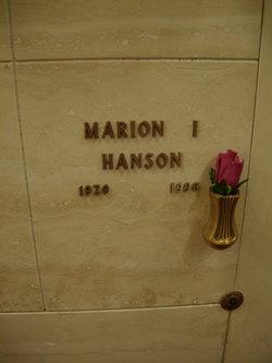 Mary I. Hanson