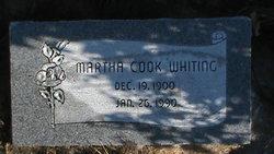 Martha <I>Cook</I> Whiting
