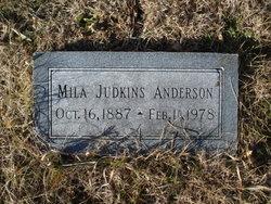 Mila <I>Judkins</I> Anderson
