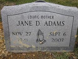 Jane D. Adams
