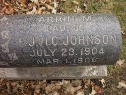 Arrin M Johnson