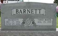 Jacqulyn <I>Curtis</I> Barnett
