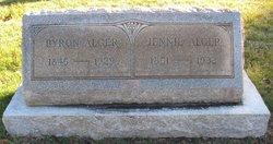 "Ann Jane ""Jennie"" <I>Robinson</I> Alger"