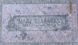 Mary Ellen <I>Tuttle</I> Sparks