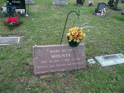 """Mary Ruth """"Mamie"""" Mounts"""