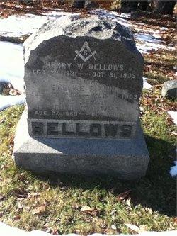 Emeline M <I>Bishop</I> Bellows