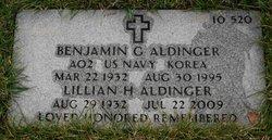 """Benjamin Geoge """"Ben"""" Aldinger"""