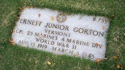 "Corp Ernest Junior ""Lyle"" Gorton"