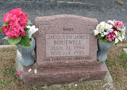 "Jacqulyn ""Jackie"" <I>James</I> Boutwell"