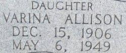 Varina <I>Deloach</I> Allison