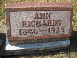Ann <I>James</I> Richards
