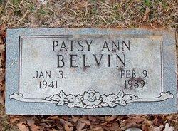 Patsy Ann <I>Tribbey</I> Belvin