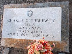 """Charles Conrad """"Charlie"""" Cieslewitz"""