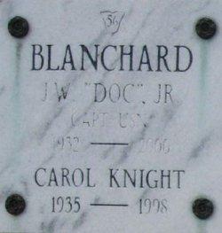 Carol <I>Knight</I> Blanchard