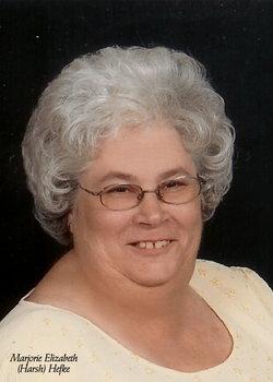 "Marjorie Elizabeth ""Margie"" <I>Harsh</I> Hefke"