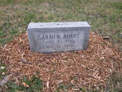 Sarah B. Adams