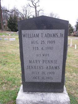 Mary Penny <I>Jenkins</I> Adams
