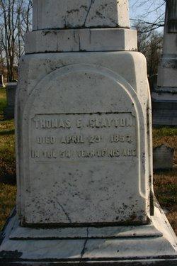 Thomas E. Clayton