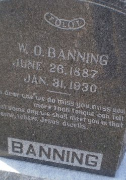 "William Otto ""W.O."" Banning"