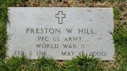 Preston W Hill