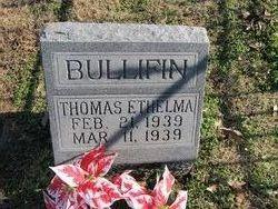 Thomas Ethelma Bullifin