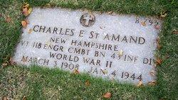 PVT Charles E St Amand
