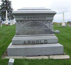 Lucia M <I>Dean</I> Arnold