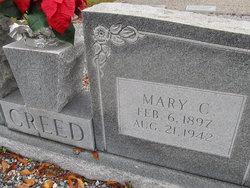 Mary Cathrine <I>Pittman</I> Creed
