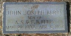 """John Joseph """"Joe"""" Berry"""
