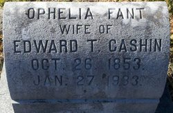 Amanda Ophelia <I>Fant</I> Cashin
