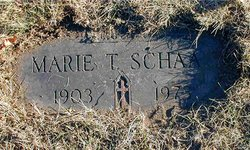 Marie Theresa <I>Koschka</I> Schaaf