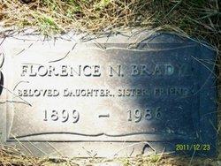 Florence N Brady