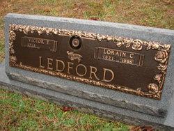 Lorain Carol <I>Waters</I> Ledford
