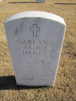 Garland Vance Hailey