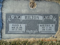 Marjorie Gladys <I>Meadows</I> Hilton