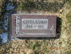 Alberta Rodman
