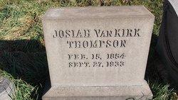 "Josiah Van Kirk ""J. V."" Thompson"