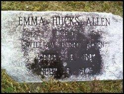 Emma <I>Hucks</I> Allen