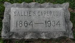 "Sarah ""Sallie"" <I>Sharp</I> Caperton"