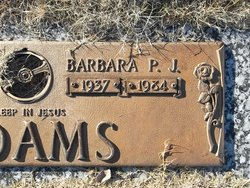 "Barbara ""BJ"" <I>Kelly</I> Adams"