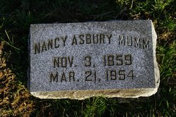 Nancy <I>Asbury</I> Mumm