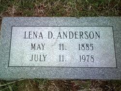 Lena D Anderson