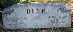 """Verna """"Vernie"""" <I>Simpson</I> Bush"""
