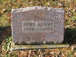 Ruby Floella <I>Clay</I> Adams