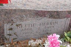 Nettie <I>Herrin</I> Holt
