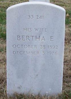 Bertha E Fetter