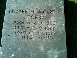 Elizabeth <I>McCarty</I> Storke
